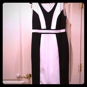 Lovely black & white dress
